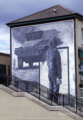 Photograph - Derry Mural Resistance by Nina Ficur Feenan