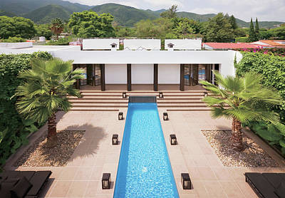 Photograph - Resort And Lap Pool by Scott Frances