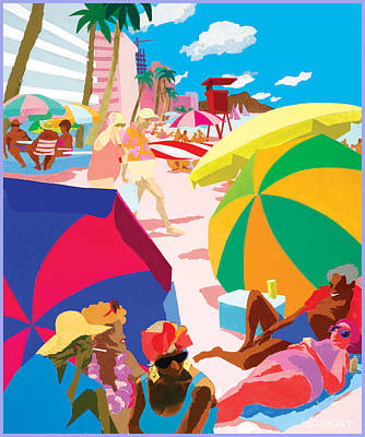 Resort Art Print