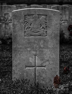 Regiment Photograph - Respect by Nigel Jones