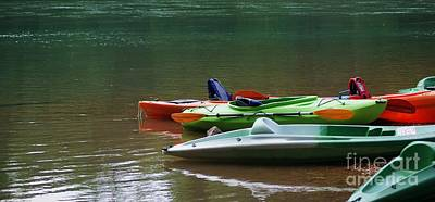 Photograph - Respite Of The Kayaks by Julie Clements
