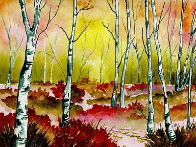 Painting - Resplendent Woods by Brenda Owen
