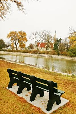 Art Print featuring the photograph Rest A While In Ellis by Shirley Heier