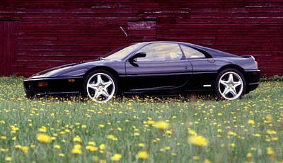 Photograph - Rest After A Long Day's Drive - Ferrari F355 by Ben Kotyuk
