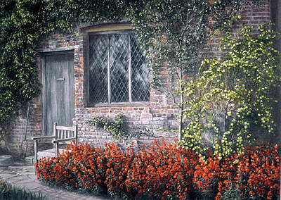 Art Print featuring the painting Rest Awhile by Rosemary Colyer