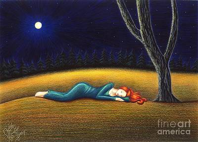 Drawing - Rest For A Weary Heart by Danielle R T Haney