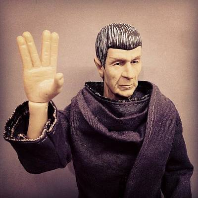 Science Fiction Photograph - Rest In Peace, #spock... You'll Be by James Bare