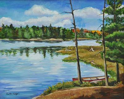 Painting - Rest Stop by Heather Kertzer