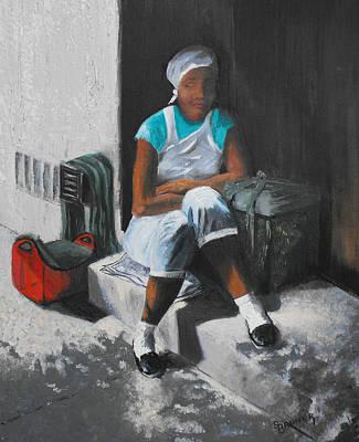 Rest Stop Original by Susan Bruner