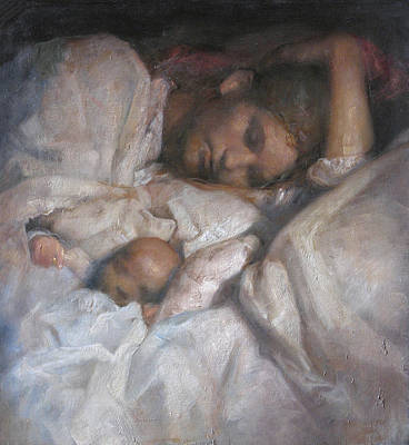 Mom Painting - Rest by Odd Nerdrum