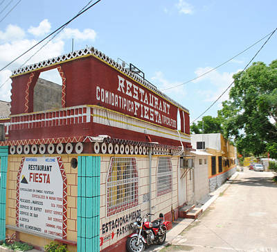 Photograph - Restaurant Merida Mexico by Robert  Moss