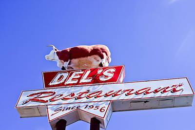 Photograph - Restaurant Sign In Tucumcari by Ben Graham