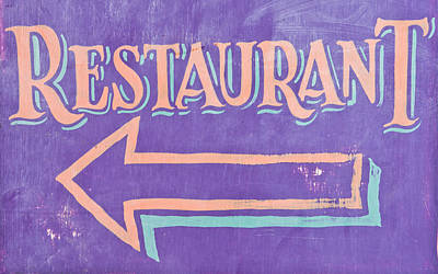 Restaurant Art Print by Tom Gowanlock