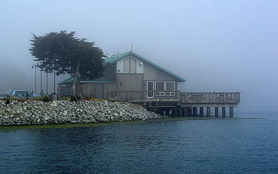 Photograph - Restaurant With A Foggy View by AJ  Schibig