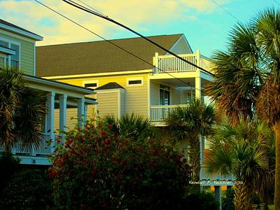 Photograph - Restful Porch At Isle Of Palms by Kendall Kessler