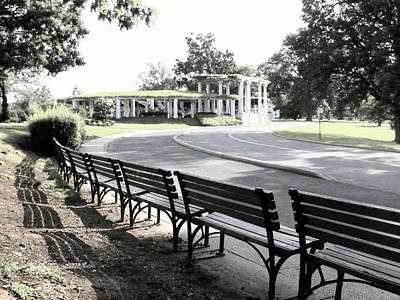 Digital Art - Resting At Arlington by Angelia Hodges Clay