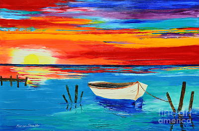 Painting - Resting Boat by Mariana Stauffer