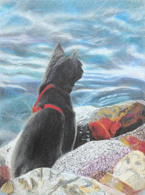 Painting - Resting By The Shore by Jeanne Fischer