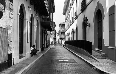 Photograph - Resting In Casco Viejo Mono by John Rizzuto