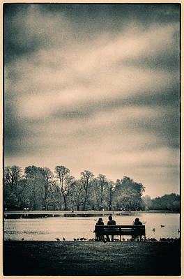 Photograph - Resting In Hyde Park by Lenny Carter