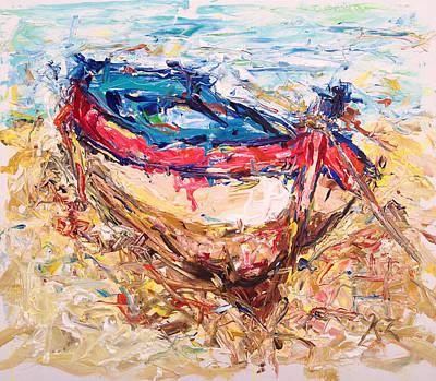 Painting - Resting by Khalid Alzayani