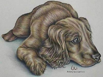 Resting Art Print by Lisa Marie Szkolnik