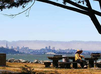 Photograph - Resting On The Emeryville Penninsula by Robert Woodward