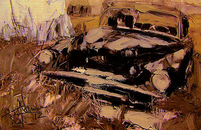 Mixed Media - Resting Place by Jim Vance