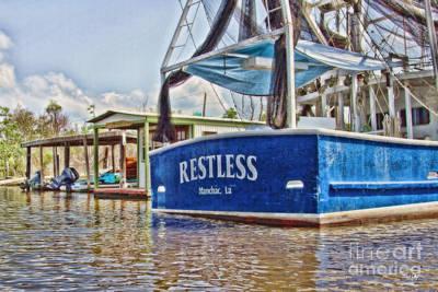 Louisiana Seafood Photograph - Restless by Scott Pellegrin