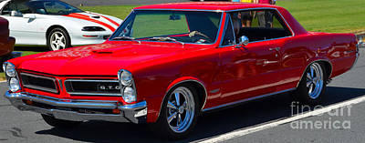 Photograph - Restomod 1965 Gto by Mark Spearman