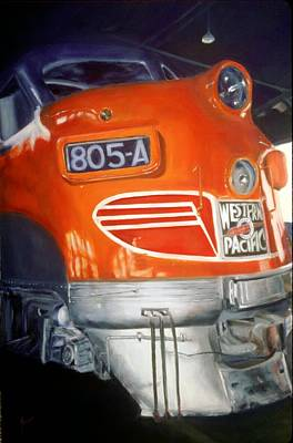 Painting - Restoration Of The 805a by Shannon Grissom