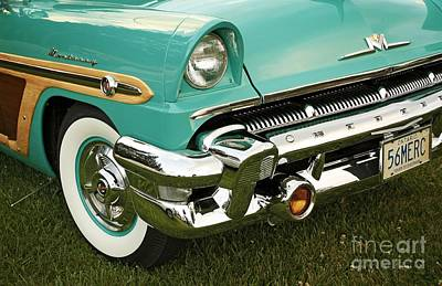 Restored 1956 Mercury  Print by Inspired Nature Photography Fine Art Photography