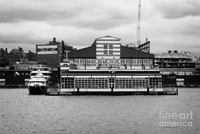 restored Chelsea Pier 60 20th century passenger ship terminal hudson new york city Art Print by Joe Fox