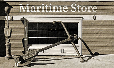 Photograph - Restored Maritime Store by Holly Blunkall