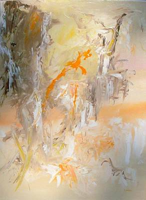Wall Art - Painting - Resurgance A Rising Again Into Life by Linda Wimberly
