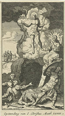 Resurrection Of Christ, Anonymous Art Print by Anonymous