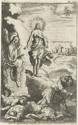 Resurrection Of Christ, Jan Luyken, Jan Claesz Ten Hoorn Art Print by Jan Luyken And Jan Claesz Ten Hoorn