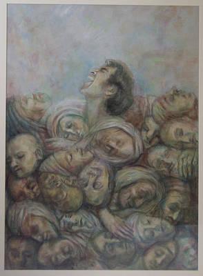 Resurrection Art Print by Paez  Antonio