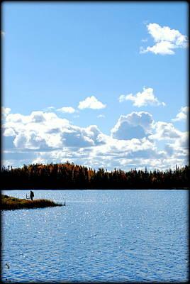 Photograph - Rethinking Fishing by Kathy Sampson