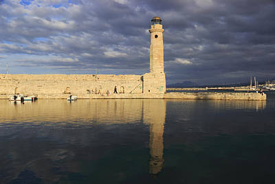 Bringing The Outdoors In - Rethymno Lighthouse Crete Greece by Ivan Pendjakov