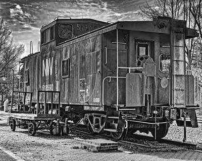 Retired Caboose Original