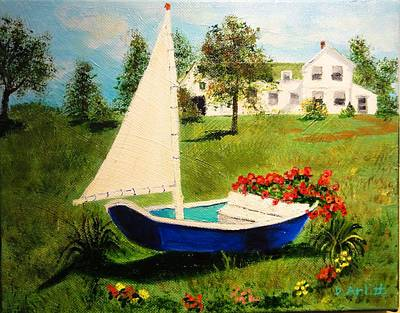 Retired In Cape Cod Art Print