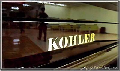 Retired Kohler Piano Art Print by Danielle  Parent