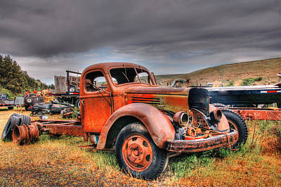 Photograph - Retired  by Patricia Dennis
