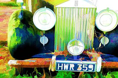 Photograph - Retired Rolls by Jan Amiss Photography