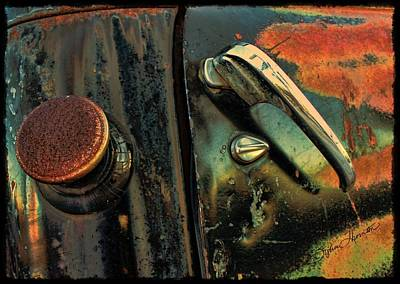 Abstract Photograph - Retired by Sylvia Thornton