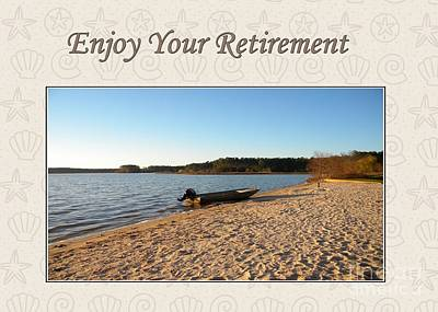 Digital Art - Retirement Lake Crabtree by JH Designs