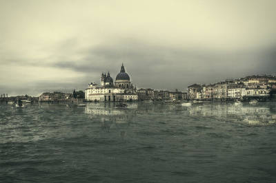 Photograph - Retouched Venice by Roberto Pagani