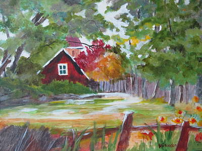 Painting - Retreat In The Woods by Heidi Patricio-Nadon