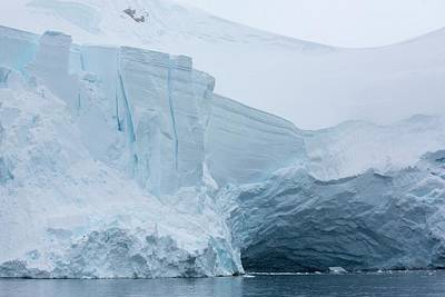 Graham Photograph - Retreating Glaciers In Wilhelmina Bay by Ashley Cooper